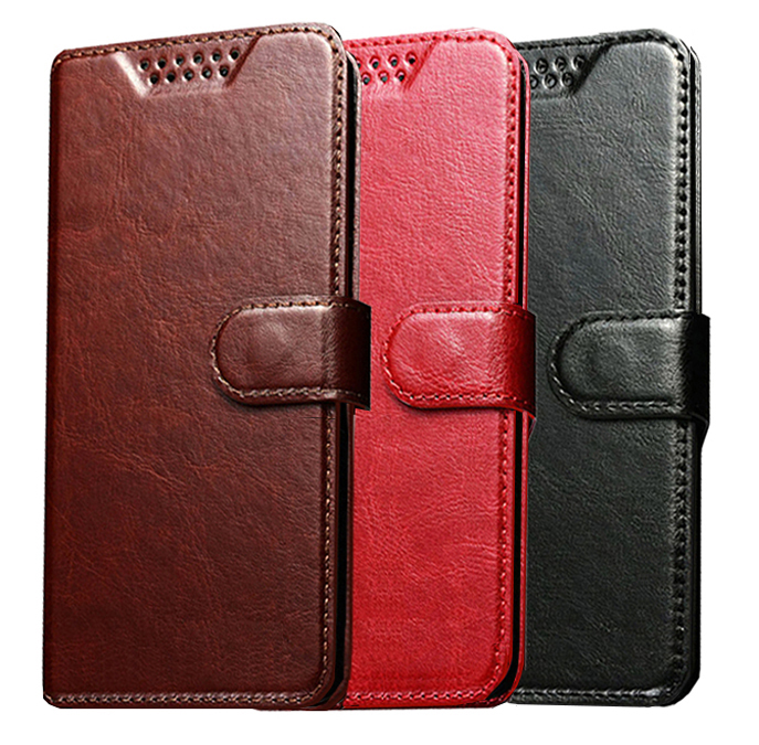 Leather Wallet <font><b>Case</b></font> <font><b>for</b></font> <font><b>Alcatel</b></font> One Touch <font><b>Pop</b></font> <font><b>4</b></font> <font><b>5051D</b></font> 5051J <font><b>Pop</b></font> <font><b>4</b></font> Plus 5056 <font><b>Pop</b></font> 5056D Shine Lite OT 5080 Phone Cover image