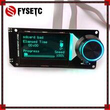 Тип B MINI12864LCD экран RGB подсветка Белый Мини 12864 в 2,1 дисплей поддерживает Марлин DIY с sd-картой для SKR 3d принтер части