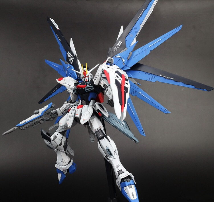 [Yamala] Anime daban FREEDOM ZGMF-Z10A VER 2.0 MG 1/100 Gundam Deathscythe Hell XXXG-01D2  Assemble Action Figure Robot kids Toy стоимость