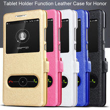 Silk Texture Leather Case for Huawei Y5 Y6 Y7 Prime 2018 Y9 Case on Honor 7A Pro Case for Honor 7C Pro Russia Version 7S Coque(China)