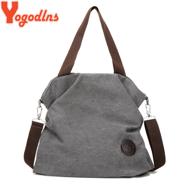 cca92876f0dc US $9.93 46% OFF|Yogodlns Women Corduroy Canvas Tote Ladies Casual Shoulder  Bag Foldable Reusable Shopping Bags Beach Bag Female Cotton Cloth bag-in ...