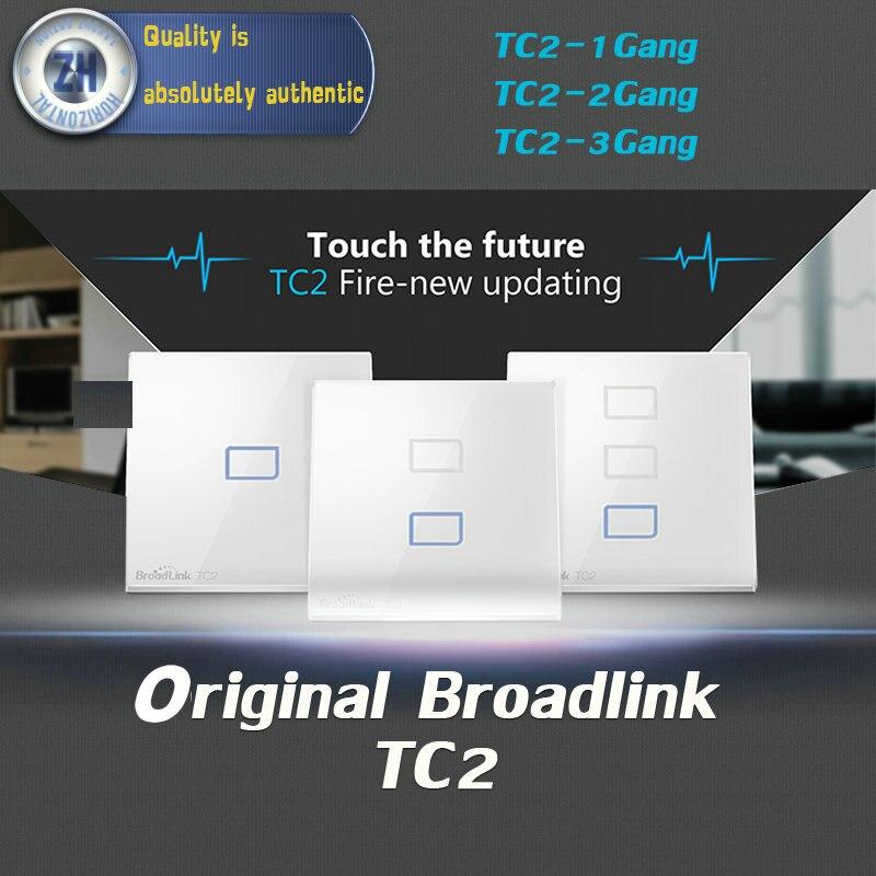 Original Broadlink TC2 1Gang 2Gang 3 Gang Touch Switch EU Sts