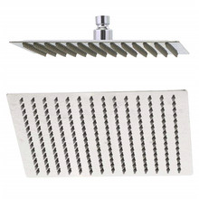Ultra-thin 10 Inch Square Rain Shower Head 304 Stainless Steel Luxry Shower Panels Silver Bathroom Accessory Set Bathroom Shower jieni 8 inch square stainless steel ultra thin shower heads rainfall shower head rain shower not includes shower arm returned
