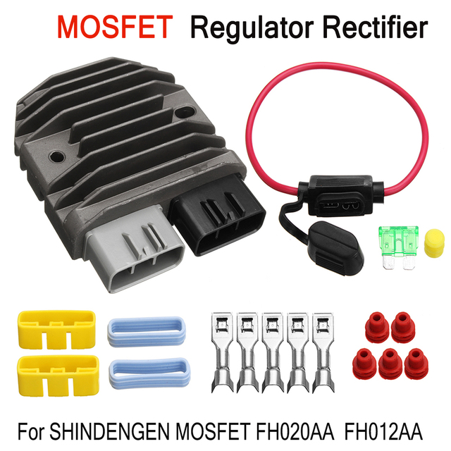 US $24 09 |Motorcycle Voltage Regulator Rectifier For Shindengen Mosfet  FH020AA FH012AA Replacement Part Voltage Rectifier-in Motorbike Ingition  from