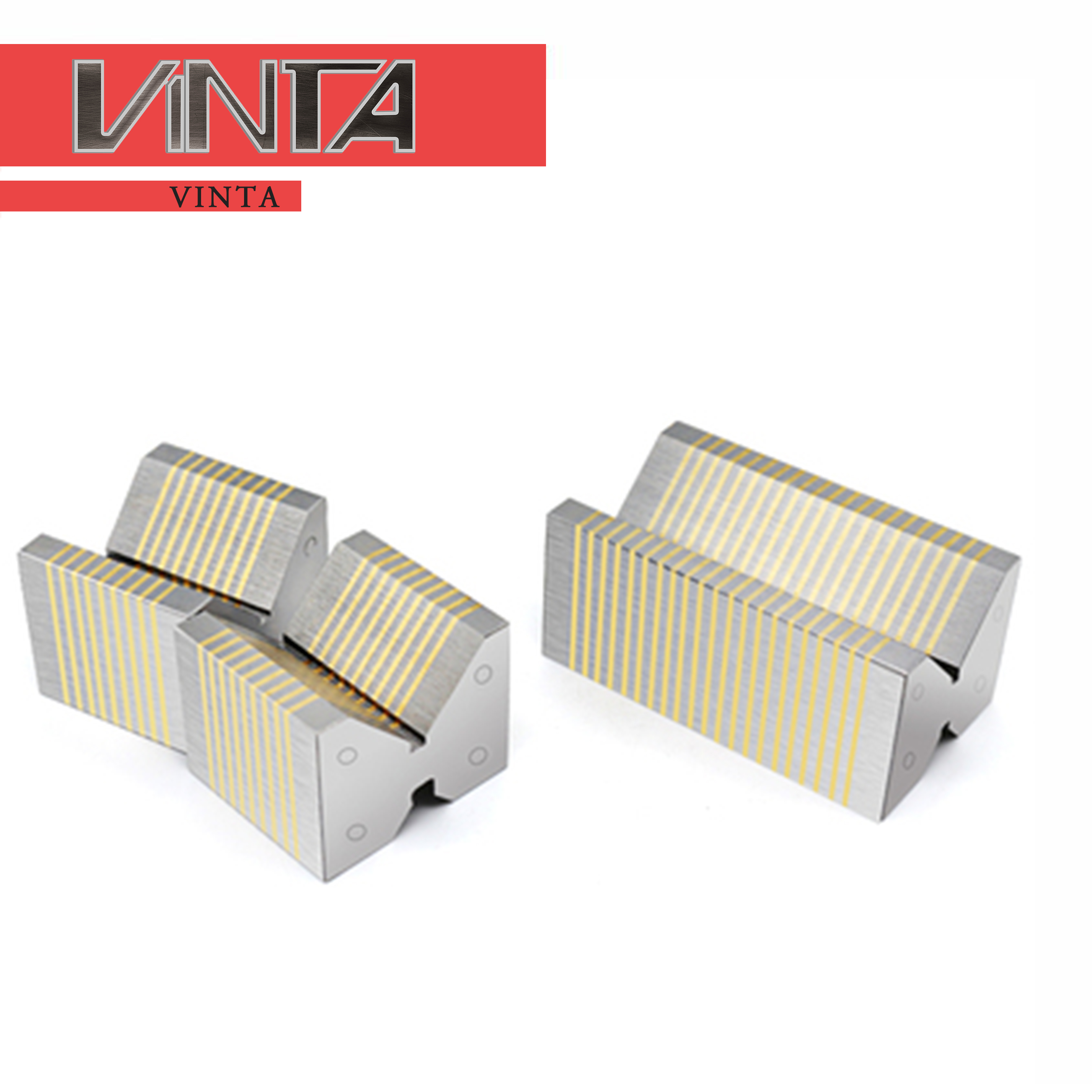 Free Shipping CNC Magnetic Introduction Block For Grinding Machine F35A F35B F36V F37V V Shaped Fine Coarse Compound