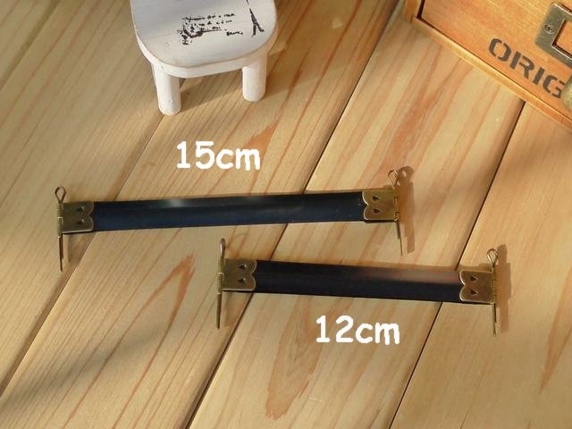 Free Shipping! 15cm/5.9 Metal Internal Flex Frames with Loops for Purses Handbags 30pcs N1077