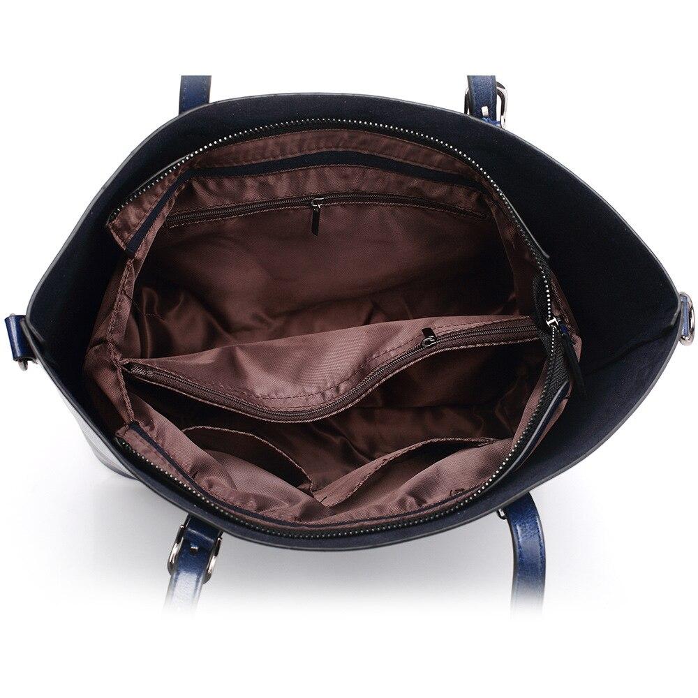 women leather handbags Casual Tote luxury handbags women bags designer ladies Shoulder cheap leather handbag brown color ME753