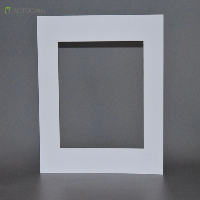 2 mm 5 Pcs White Acid Free Photo Mats fit 8X10 Pictures -in Frame ...
