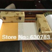Ручная Китайская рисовая бумага(XUAN paper) ручной прокрутки для художника живопись с 22 см* 3,5 м в прокрутки продвижение