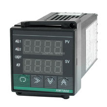 Xmt-800 instrumen kontrol suhu cerdas Pid SSR PV SV K eb PT100 CU50 instrumen kontrol suhu 48*48mm