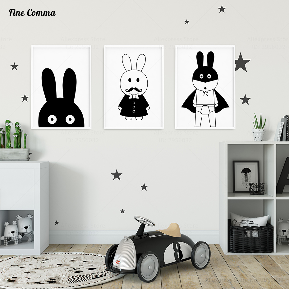 Aliexpress.com : Buy Boy Room Decor Hero Pictures Nordic