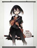Home Decor Anime Akame Ga KILL Wall Scroll Poster Fabric Painting Kurome 035