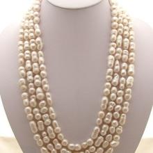 """10"""" 20 мм белый в стиле барокко FW жемчужное ожерелье^@^ благородный стиль естественно прекрасно jewe быстрая"""