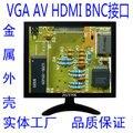 8 дюймов промышленной безопасности HDMI BNC А. В. VGA ЖК-монитор компьютера мониторы hd 1024x768