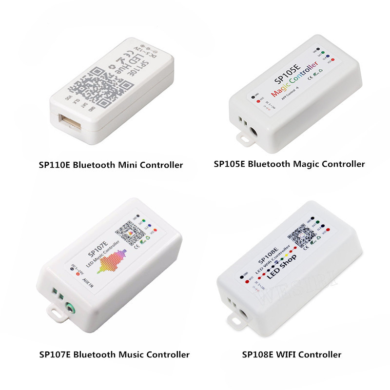 SP107E Bluetooth LED music Controller for LED Strip WS2811