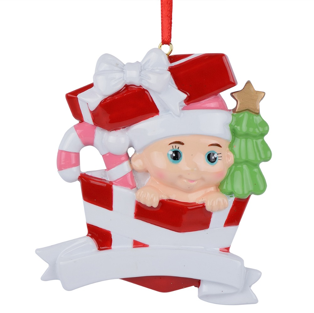 Baby 1st Christmas Gifts Personalized Christmas Tree Ornaments-in ...