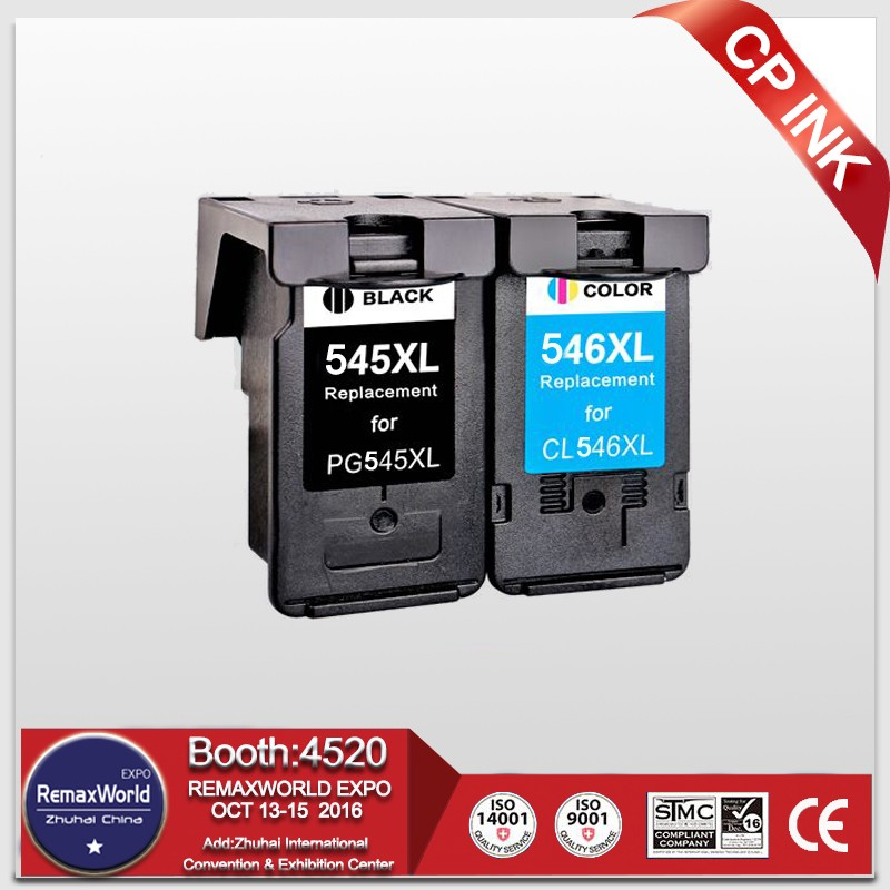 CP 2PK 545 546 Replacement for <font><b>Canon</b></font> PG-<font><b>545XL</b></font> CL-<font><b>546XL</b></font> Ink Cartridge for <font><b>Canon</b></font> Pixma IP2850 IP2855 MG2450 MG2455 MG2550 MG2555 image