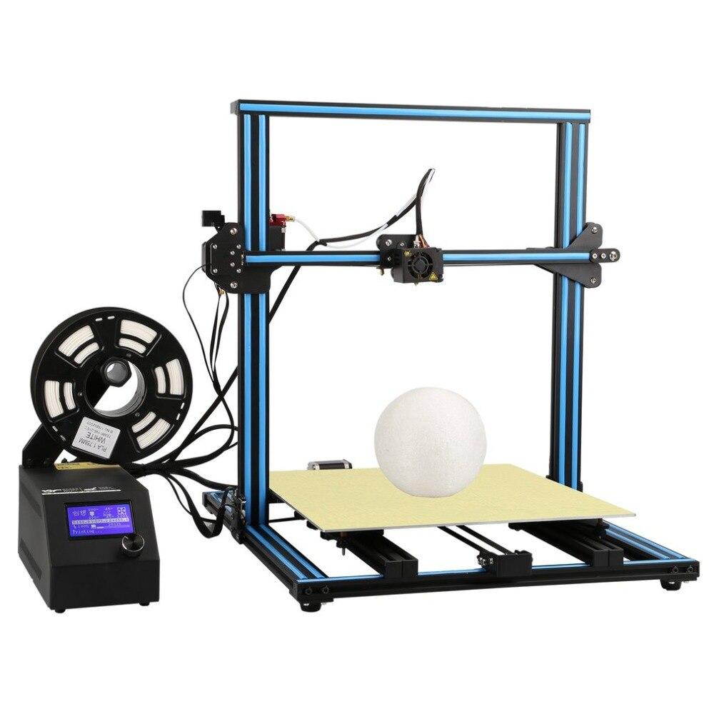 Créalité CR-10s500 Haute Précision 3D Imprimante impression de grande taille 500*500*500mm bricolage De Bureau 3D Imprimante imprimante UE Plug