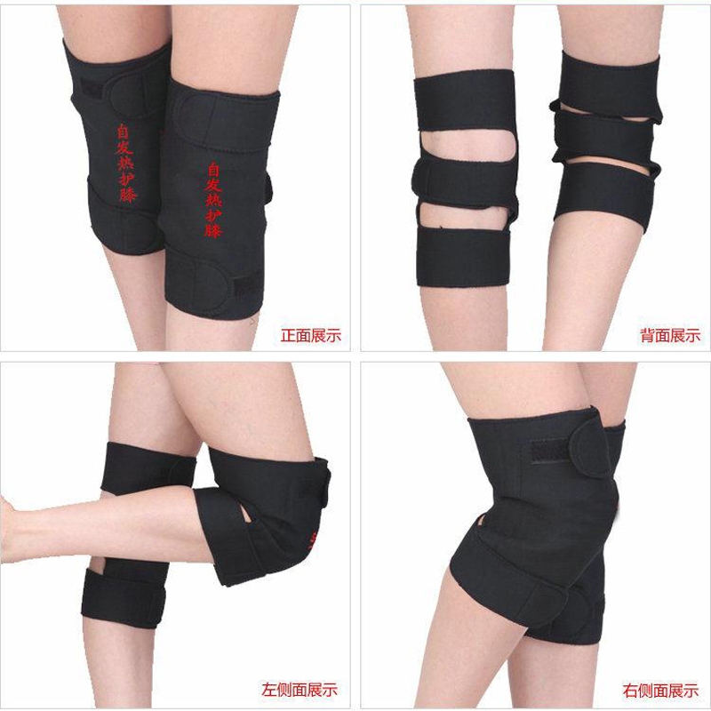 High Quality Tourmaline Self-Heating Pads Health Far Infrared Magnetic Therapy Spontaneous Heating Pad Knee Joint Arthritis hanriver health care electric heating knee and leg pads electrical heating therapy knee arthritis rheumatism ease the pain