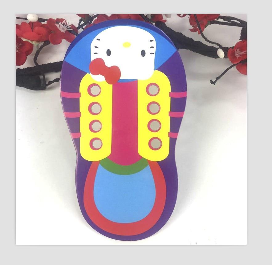 бебе картонске ципеле са конопским - Слагалице и загонетке - Фотографија 2