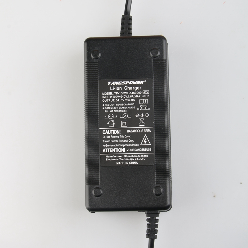 54 6V 3A Charger 54 6v 3A electric bike lithium battery charger for 48V lithium battery pack XLR Plug 54 6V3A charger in Chargers from Consumer Electronics