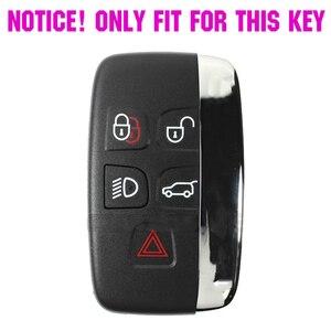 Image 2 - 5 כפתור סיליקון רכב מרחוק מפתח Fob מעטפת כיסוי מקרה עבור לנד רובר ריינג רובר ספורט ווג Evoque גילוי 4