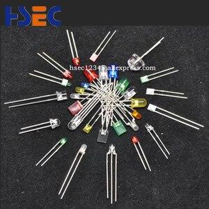 Image 5 - 1000 шт., 5 мм, прозрачные светодиодные лампы оранжевого цвета, супер яркие светоизлучающие диоды F5 мм, оранжевый светодиод имеет 5 мм, красный, белый, зеленый, синий