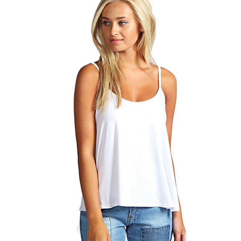 New Fashion 2018 Fashion Women Summer Vest   Top   Out Beach Sleeveless Shirt Blouse Casual   Tank     Tops   T-Shirt For Women 6Colors H9