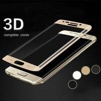 Lainergie 3D Full coverage Curved 9 H 2.5D Arc Gehärtetem Glas Displayschutzfolie für samsung galaxy S6 rand schutzfolie schutz
