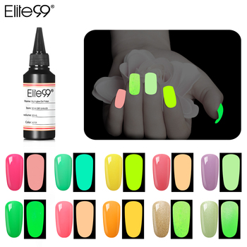 Elite99 60ML Night Glow Gel Macaron Farbe Nagellack Vernis Semi Permanant UV Gel Lack Für Nägel Make-Up Kunst maniküre Gel