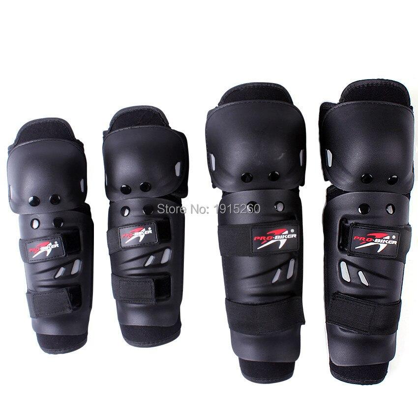 New Brand 4pcs Set Motorcycle font b Motorbike b font Knee Pads Elbows Pads Protector Pads