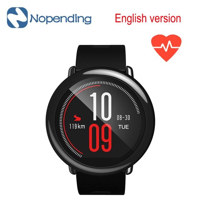 Xiaomi Huami AMAZFIT SmartWatch GPS Amazfit Спорт Smart Watch Bluetooth WiFi Двойной 512 МБ/4 ГБ Монитор Сердечного ритма для IOS Английский