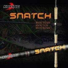 """KUYING canne à pêche en fibre de carbone SNATCH Super rigide XH, 2.1m 70 """"2.19m 73"""", 2.28m 76 """", Action rapide"""