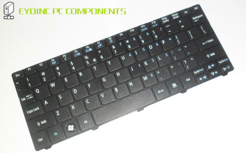 Original US Layout Keyboard Replacement for Acer Aspire One 937A 3005C 9Z.N3K82.01D NSK-AS01D, 9Z.N3K82.01 Black