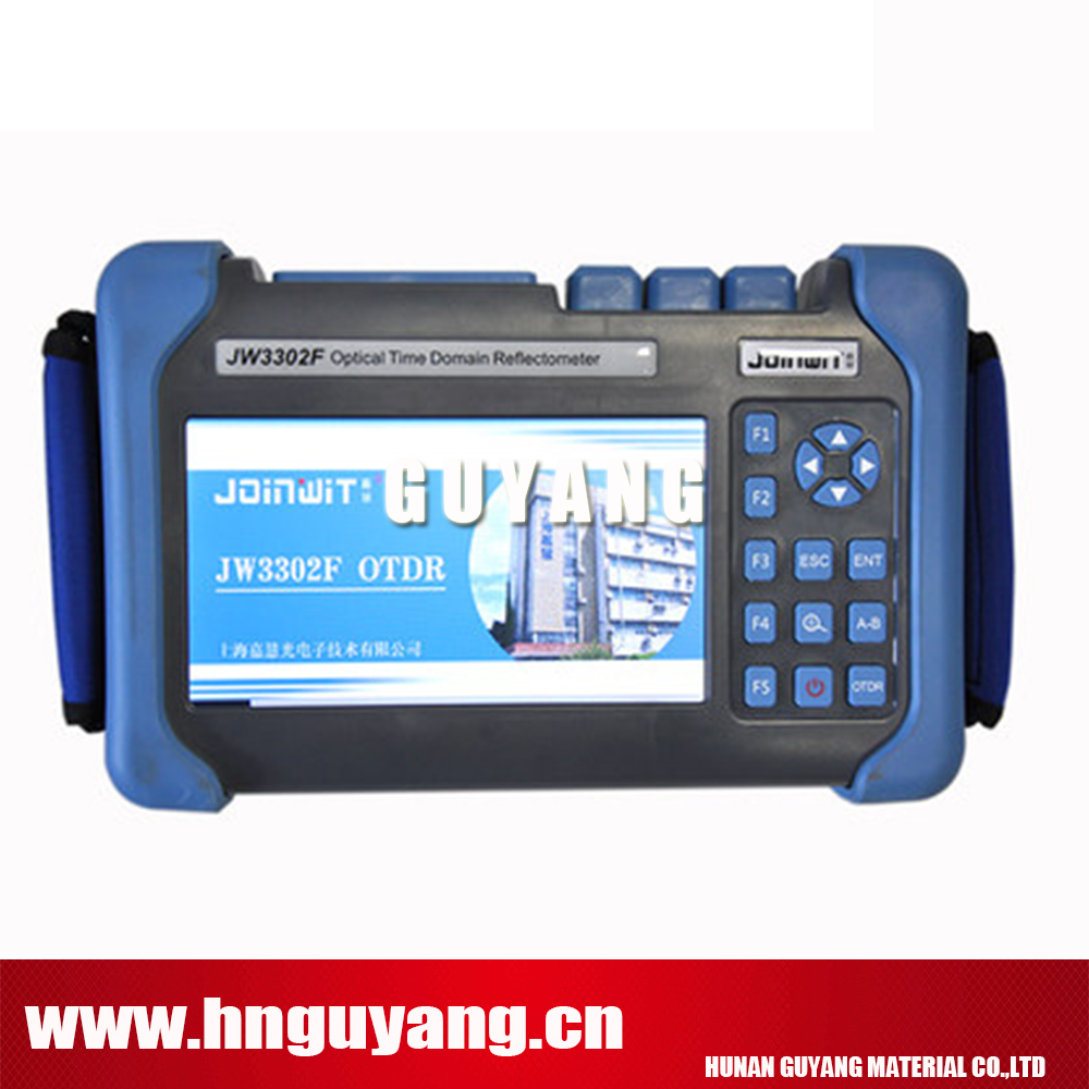 JW3302F-T1 SM OTDR 1310/1490/1550nm 30/28/28dB built in VFL power meter laser source fiber microscopeJW3302F-T1 SM OTDR 1310/1490/1550nm 30/28/28dB built in VFL power meter laser source fiber microscope