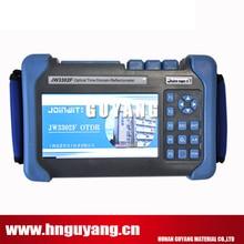 JW3302F-T1 SM OTDR 1310/1490/1550nm 30/28/28dB built in VFL power meter laser source fiber microscope