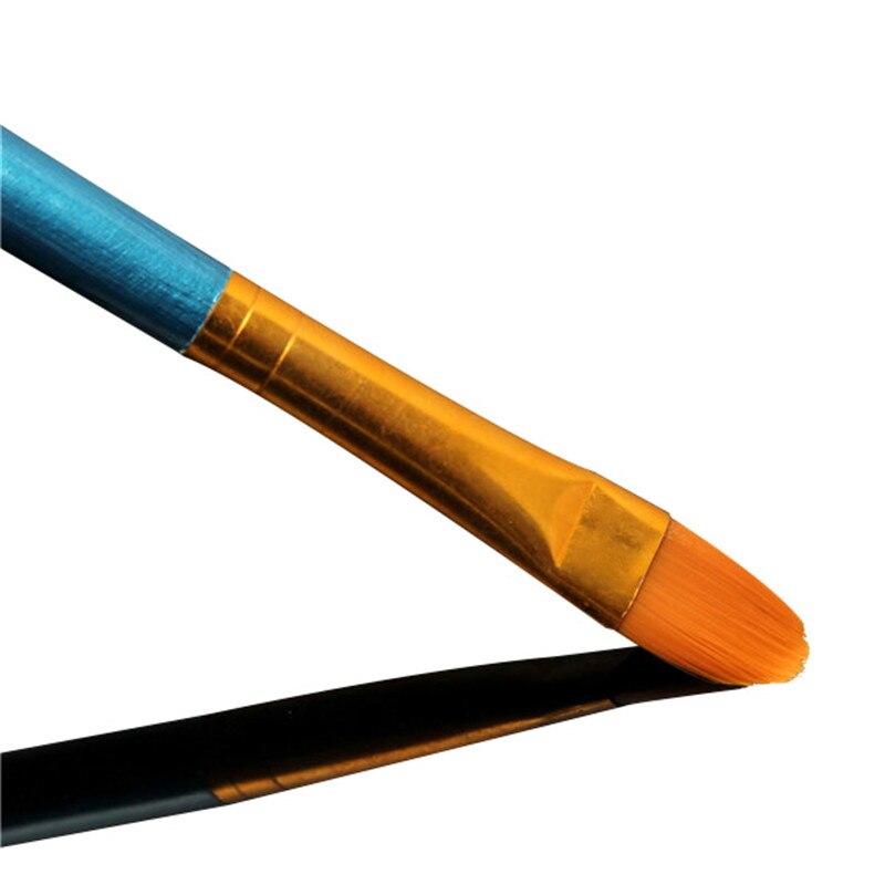 Set of 4 or 10 Nylon Paint Brushes 3