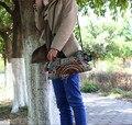 Lo nuevo étnico tendencia nacional bolso Bordado hecho a mano del bordado de doble cara bolsa de Mensajero de Las Mujeres empaqueta los bolsos de hombro