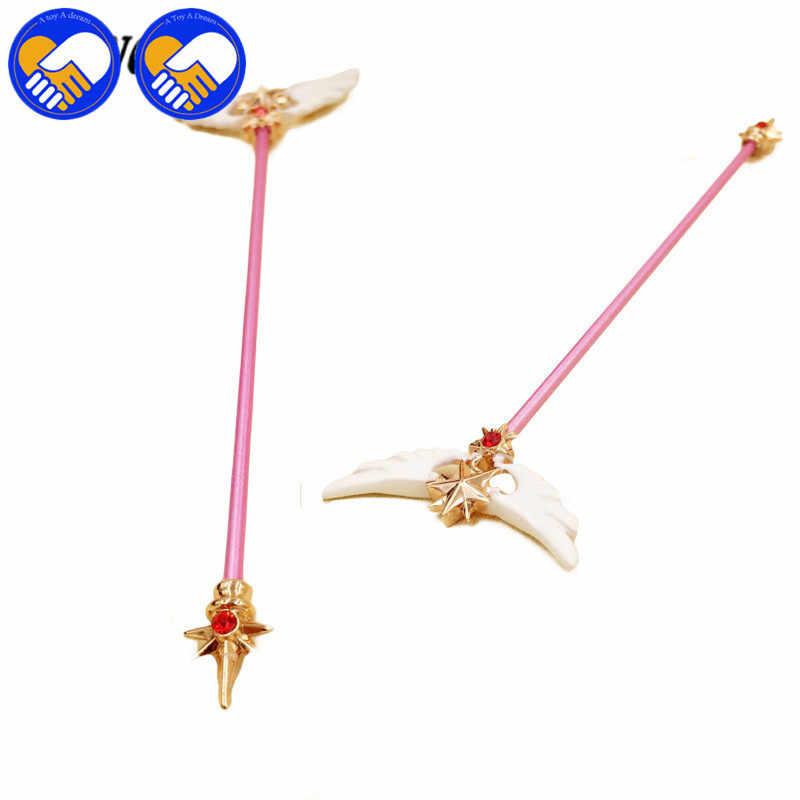 Горячая Распродажа Волшебная карточка для девочек разновидности Магия сакуры палочка палочки для бара игрушки реквизит для косплея волшебная палочка Сакура игрушки Фигурки для коллекции