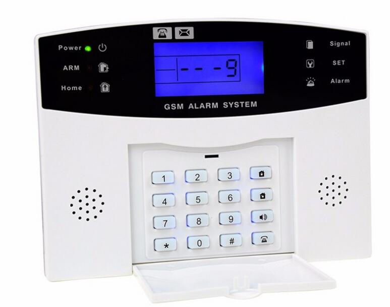 English Voice Prompt Built-in Relay Support Extra Device Control Mild And Mellow Russian Rational Hot Selling Gsm Alarm System Wired/wireless 433mhz
