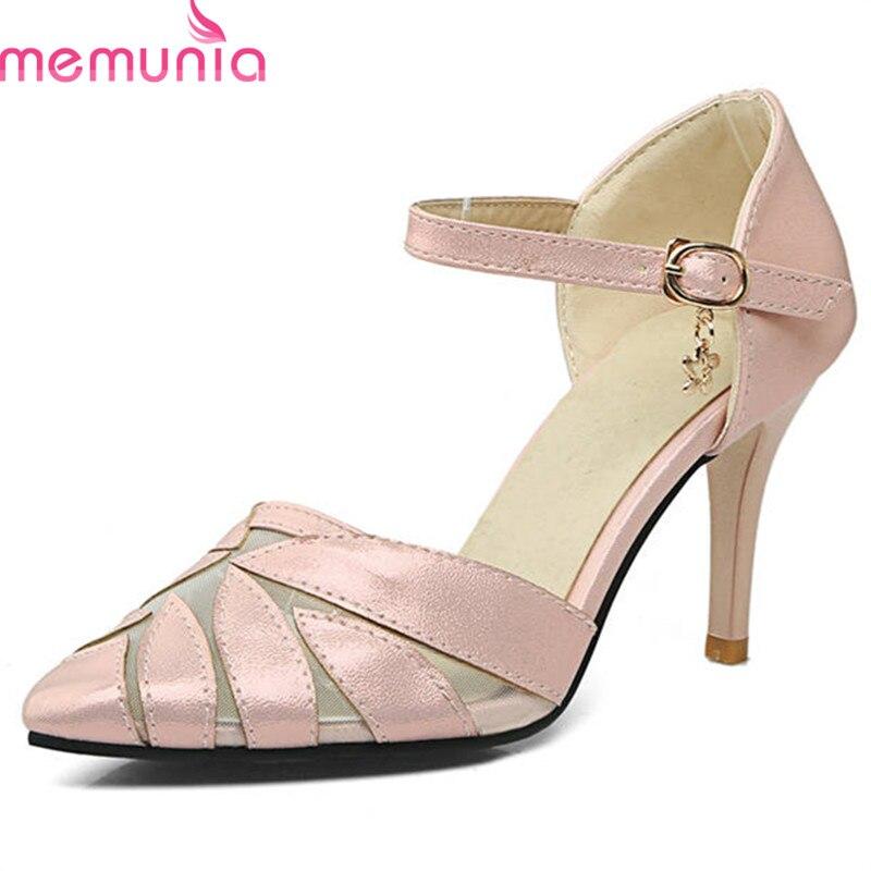 Bombas rosado Toe Las Azul Sexy blanco Memunia Hebilla Simple Calientes Cielo Punta Venta Delgadas 2018 De Altos Tacones La Verano Zapatos Boda Mujeres Moda Bz0pq