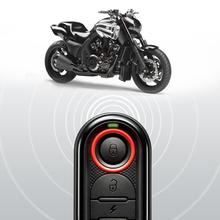 STEELMATE Motorcycle Alarm Remote Start Keyless System Security Vechicle System LCD Display Waterproof 986E1 Remote Control