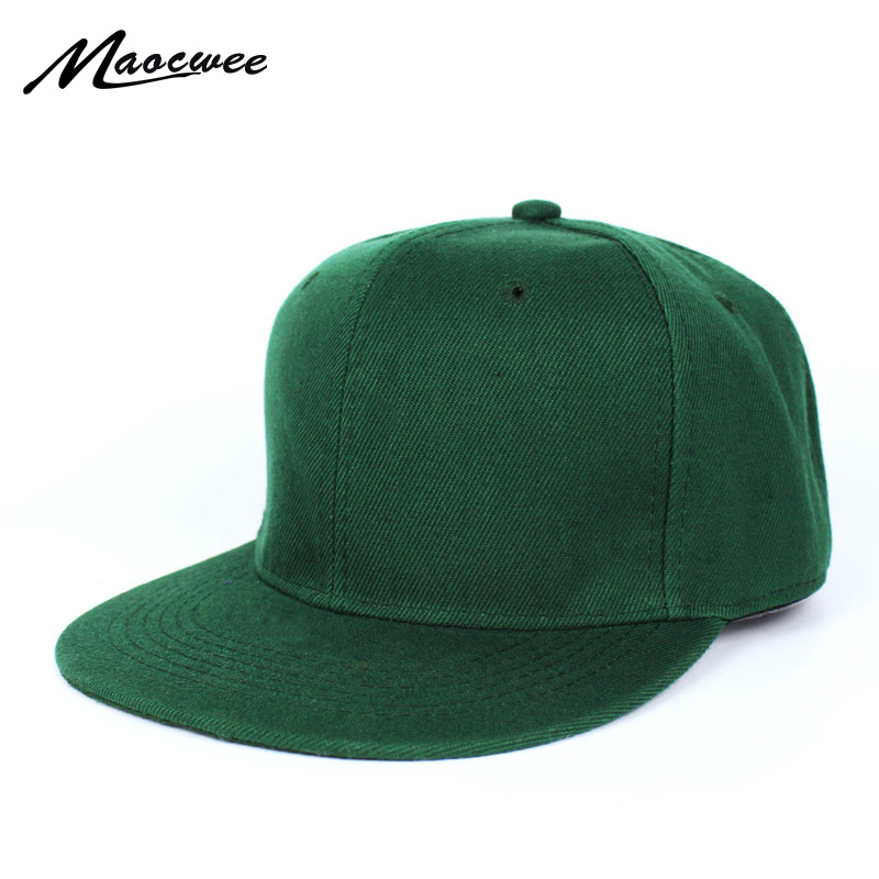 New Arrivals Solid color Baseball Cap Casual Dad Hat Green Snapback Men and Women Adjustable Baseball Caps Brand New for Adult