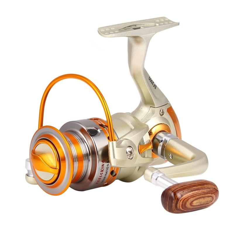 New 1000-7000 10BB <font><b>Fishing</b></font> Reel 5.5:1 Carp Feeder Spinning fly <font><b>fishing</b></font> Reels carretilha de pesca molinete accessories XQ-01