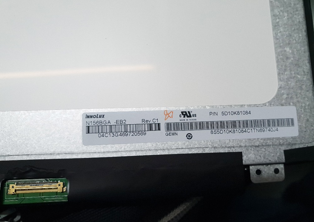 LED Screen N156BGA EB2 Rev C1 P N 5D10K81084 N156BGA EB2 Matrix for Laptop 15 6