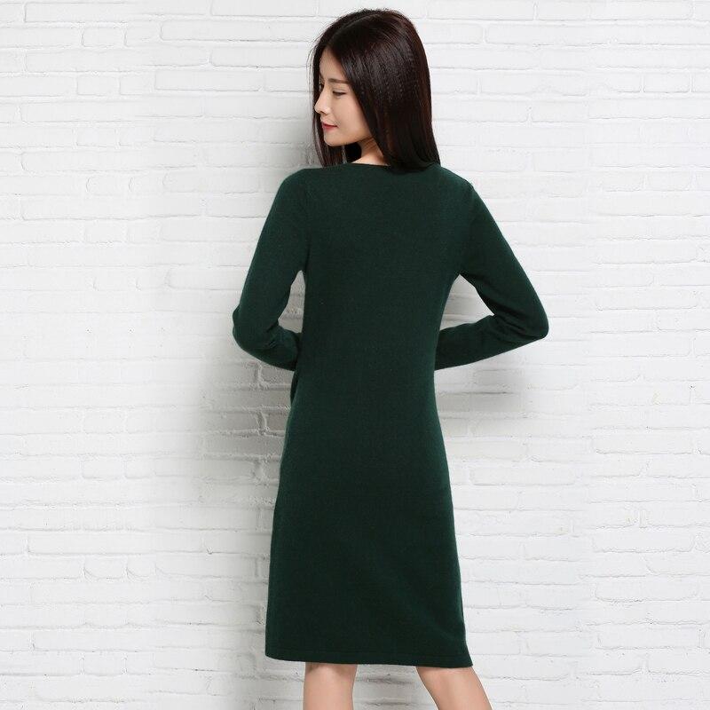 Adohon 2018 Fashion Wanita Dresses dan Pullover Sueter Femme Musim - Pakaian Wanita - Foto 2