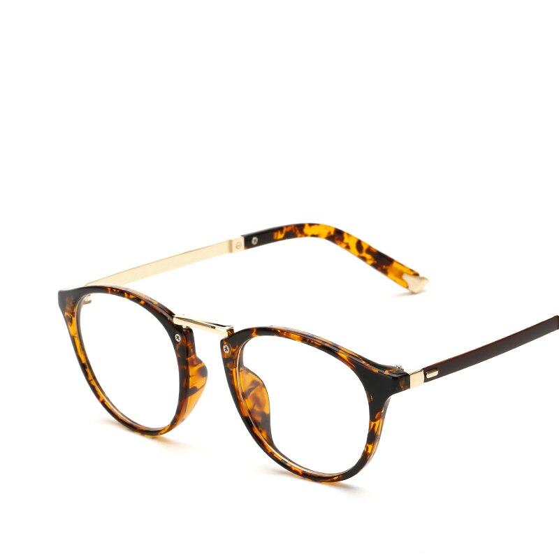 LONSY Nova Rosa Óptica do Eyewear Marca Óculos Redondos Quadro Claro lente  de Moda Armações de óculos de Olho Para As Mulheres oculos de grau CJ2204  em ... c8b6f23811