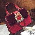 velvet bag luxury handbags women bags designer shoulder bags Diamond evening party bags fashion brand crossbody bag sling bolsas