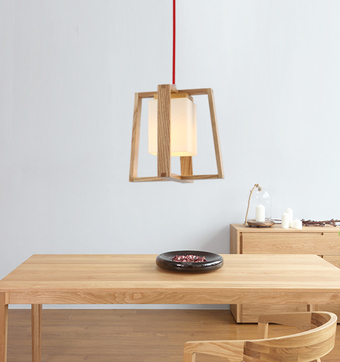 ФОТО Modern Simple Chinese Style LED Bar Restaurant Chandelier American Village Countryside Bedroom Wood Chandelier Free Shipping