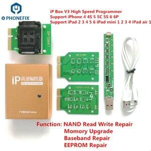 Image 4 - Jc Pro1000S Jc P7 Pcie Naviplus Pro3000S Ip Box Nand Programmeur Sn Lezen Schrijven Gereedschap Voor Alle Iphone Ipad Geheugen upgrade